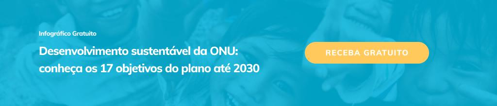 Infográfico agenda 2030 da ONU